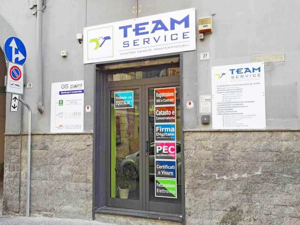 Punto vendita Team Service Franchising